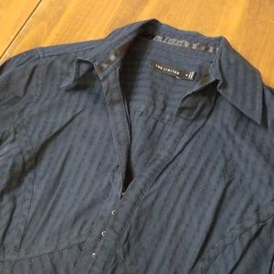 The Limited Blue Button Down (Clasps)